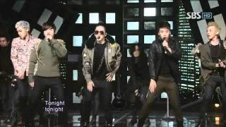 Скачать BigBang Tonight 빅뱅 투나잇 SBS Inkigayo 인기가요 20110306