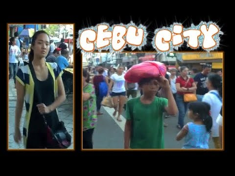 Downtown Cebu City: Colon Street, Unitop Store, Walk around the Philippines ✅