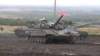 Танковый биатлон. ДНР. 15.09.2015