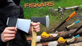 как правильно выбрать топор FISKARS