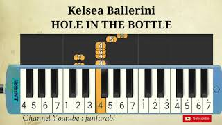 Melodica kelsea ballerini - hole in the bottle. instrumental song.melodika tutorial for beginner & pianika cover pianica easy.let's watch more videos on my...