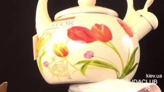 Чайник эмалированный Maestro 2,5л MR-1318 - обзор Posudaclub.kiev.ua