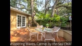 Whispering Waves, Carmel by-the-Sea, California Vacation Rental (3681, Short Version)