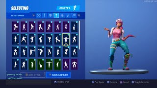 FORTNITE *PASTEL* SKIN SHOWCASE (BACKBLINGS AND EMOTES)