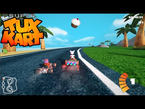SuperTuxKart 0.9.3 RC1 Daily Build - Practice for gold%