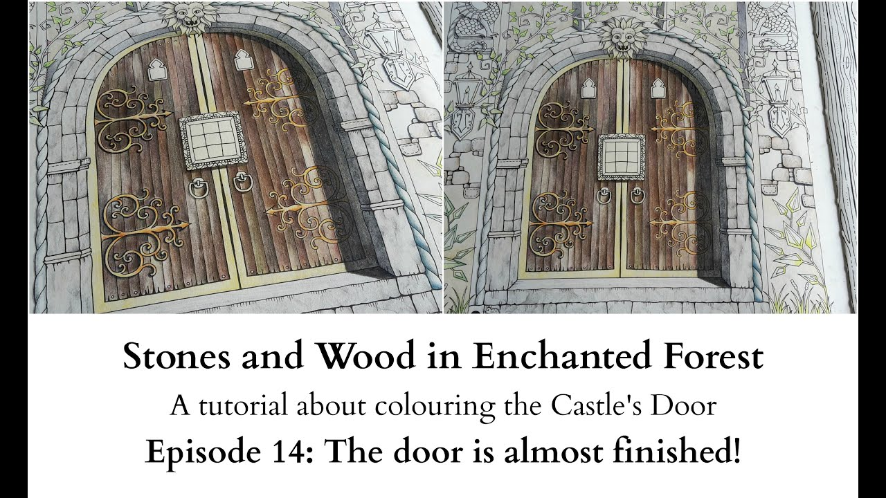 Stones and Wood in Enchanted Forest - Episode 14 - The door is almost finished!