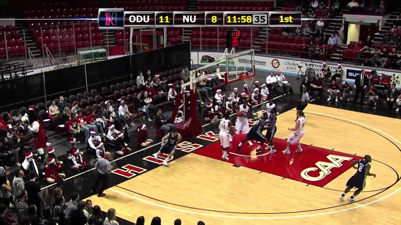 GoNUxstream Game Recap - Men's Basketball vs. Old Dominion ...