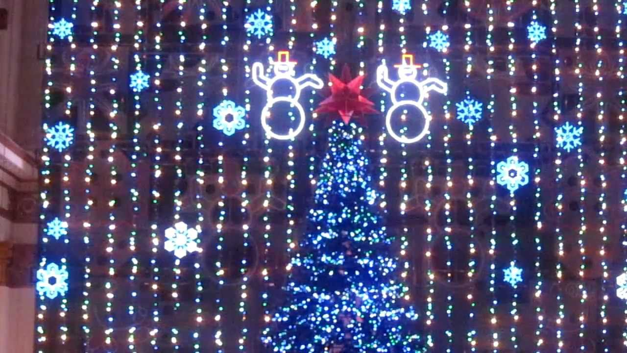 Macy's Christmas Light Show in Philadelphia - YouTube