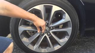 Learn how car thieves removes your lug nuts in minutes