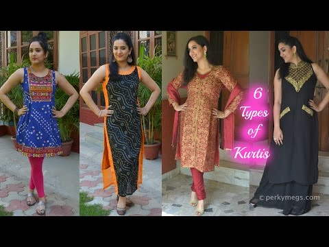 6 Types of Kurtis You Should Own   Indian Ethnic Wear   Perkymegs