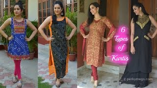 6 Types of Kurtis You Should Own | Indian Ethnic Wear | Perkymegs