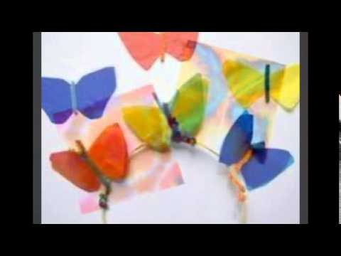 Kids arts and craft ideas youtube for Youtube art and craft