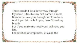 Keren Ann - My Name Is Trouble Lyrics