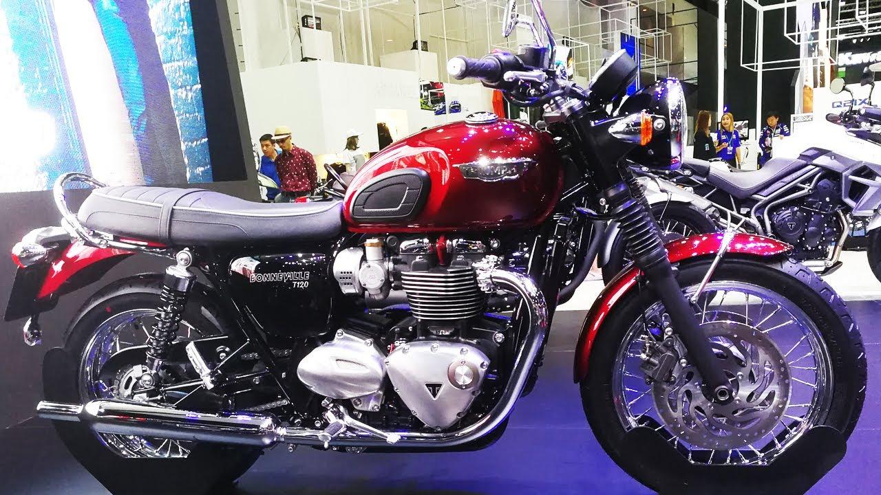 Triumph Bonneville T120 2017 Cinder Red Youtube