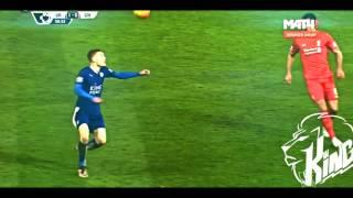 Jamie Vardy Super Goal Vs Liverpool |KING|