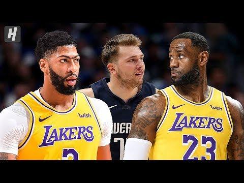 Los Angeles Lakers vs Dallas Mavericks - Full Highlights | November 1, 2019 | 2019-20 NBA Season