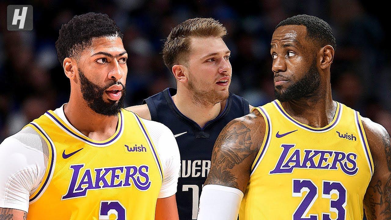 Los Angeles Lakers Vs Dallas Mavericks Full Highlights