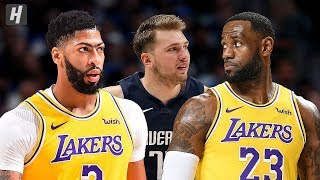 Los Angeles Lakers Vs Dallas Mavericks   Full Highlights | November 1, 2019 | 2019 20 Nba Season