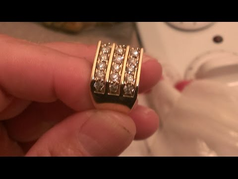Deteccion Metalica ! Metal Detecting ! ORO Y DIAMANTES ! HUGE GOLD DIAMOND RING !