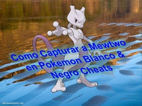how to get mewtwo on pokemon white 2