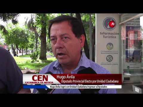 Hugo Ávila Diputado Provincial Electo por Unidad Ciudadana