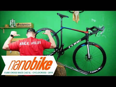 7b4795bc222 Cube Cross Race C:62 SL Carbon Cyclocross 2019 | Review (German | English  Sub)