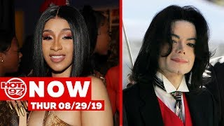 Cardi B. Opens Up + Eminem Wants Smoke + Michael Jackson Name Removed From MTV VMA Award