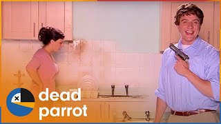 Derek Bum's Kitchen Gun - The Peter Serafinowicz Show | Dead Parrot