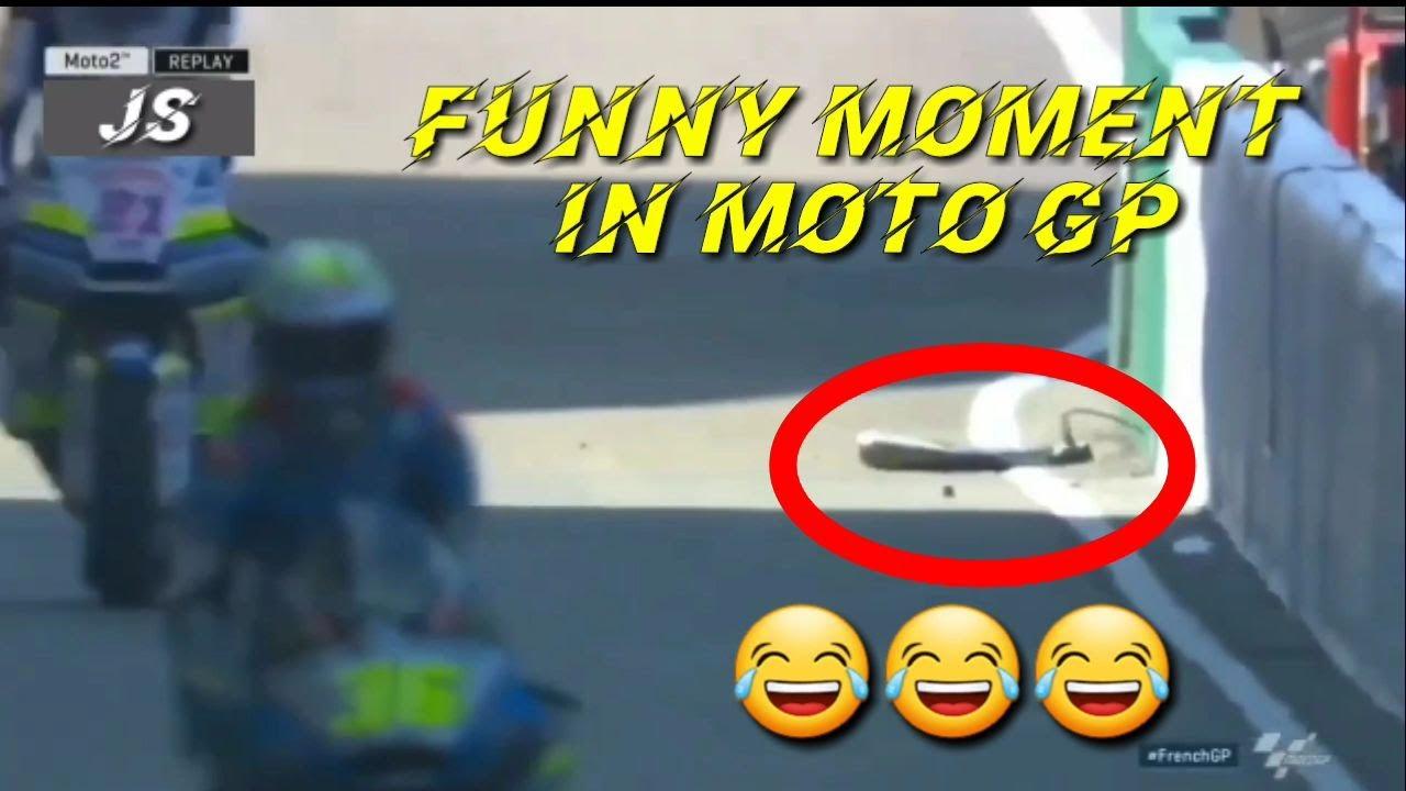 Funny Moment In Moto GP