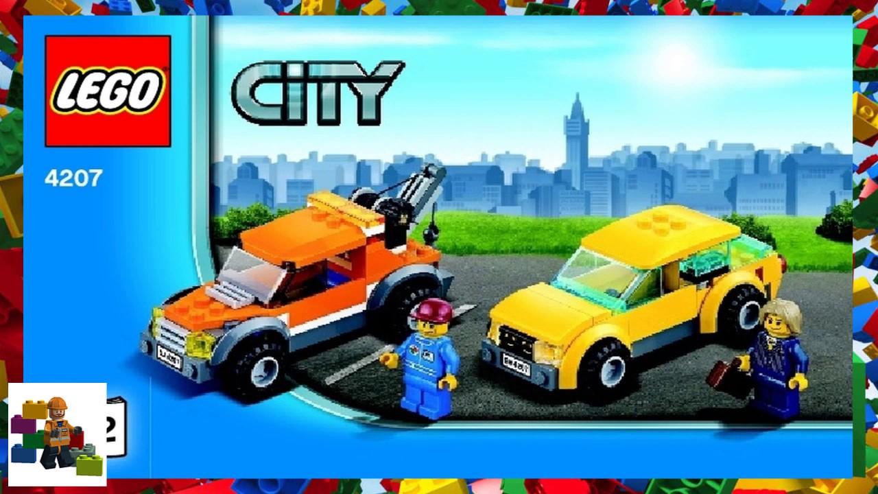 Lego Instructions City Traffic 4207 City Garage Book 2