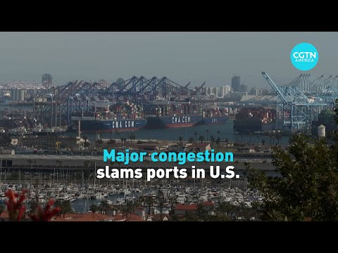 Ports experience major congestion as pandemic continues