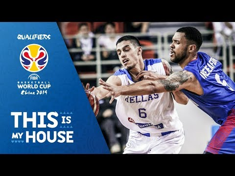 Greece v Great Britain - Highlights - FIBA Basketball World Cup 2019 - European Qualifiers