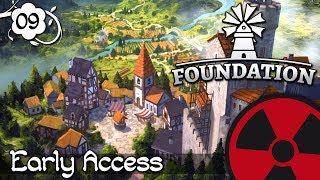 Foundation - #09: Der Bergfried wird gebaut ☢ [Lets Play-Deutsch]