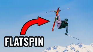 How To Flatspin 360 On Skis