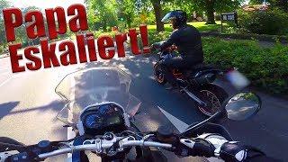 Papa fährt MEIN Motorrad!   Dual Vlog