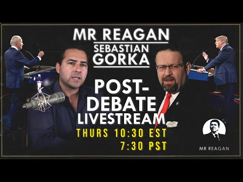 Post-Debate Live Stream With Sebastian Gorka