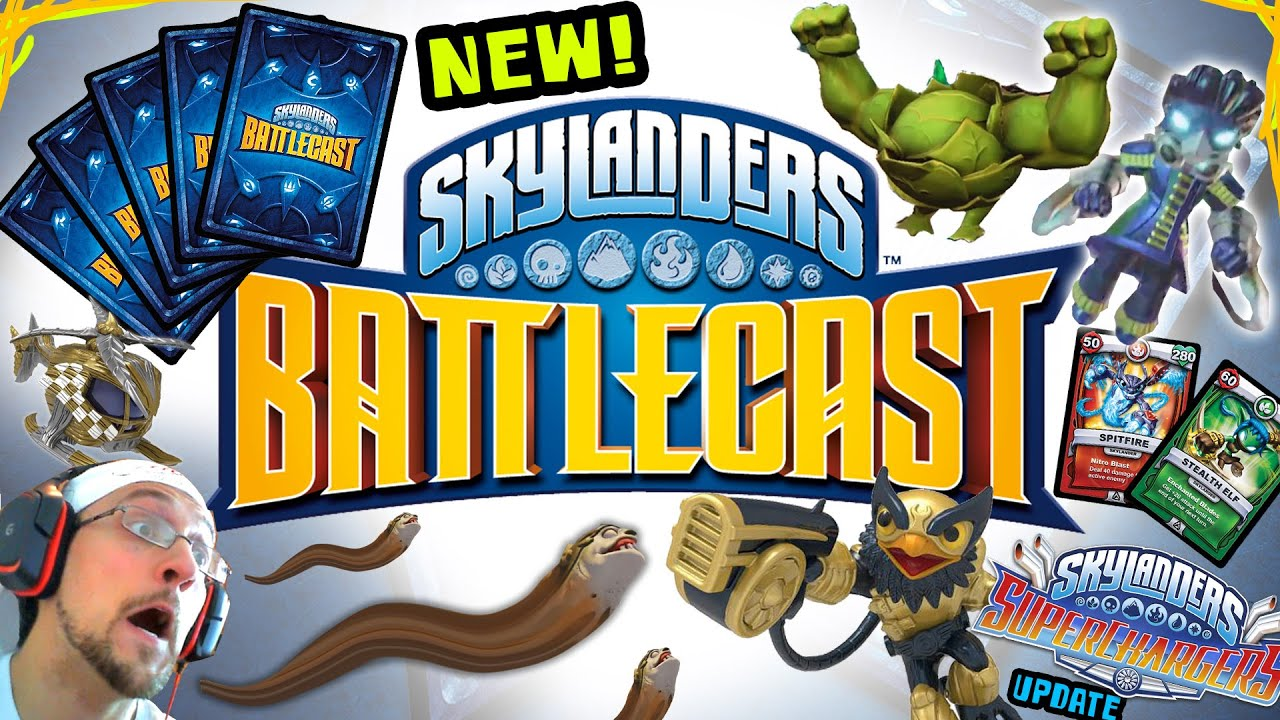 Uncategorized Skylandersgame new skylanders battlecast card game overview nitro legendary superchargers youtube