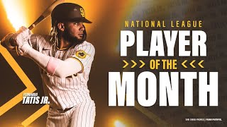 Fernando Tatis Jr. highlights: NL Player of the Month for July-August 2020