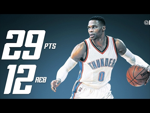 Russell Westbrook's 26th Triple Double vs LeBron! Cavs vs Thunder