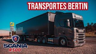 Visita TOP do Transportes Bertin Scania R500