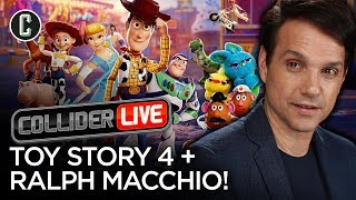 Toy Story 4 Review & Ralph Macchio in Studio! - Collider Live #155