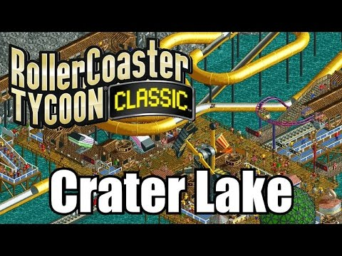 Roller Coaster Tycoon Classic - Crater Lake