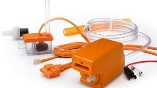 монтаж помпы кондиционера mini orange, maxi orange