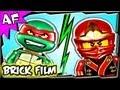 Ninjago KAI vs RAPHAEL TMNT Lego Battle 3 Part 1 Click a Winner
