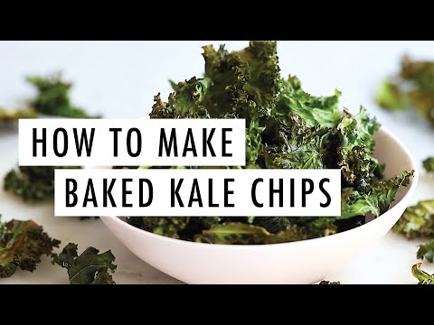 How to Make Crispy & Delicious Kale Chips