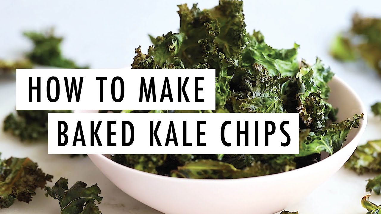 kale chips recipes youtube How to Make Crispy & Delicious Kale Chips