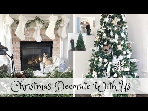 Christmas Decorate with Us | Modern Farmhouse Christmas