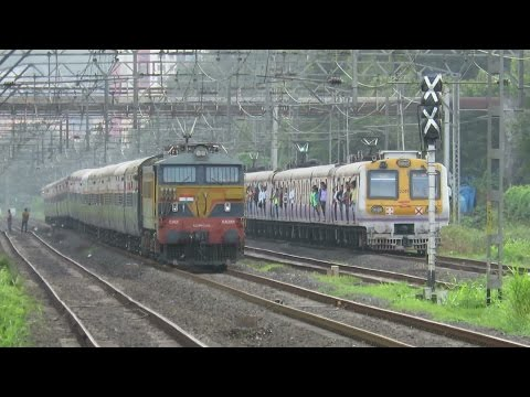 One Fine Day with Trains [14 in 1] : Central Railway : Diesel + Electric Trains : INDIAN RAILWAYS