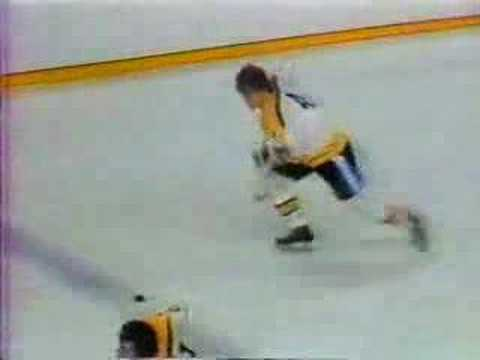 SCORE!!! BOBBY ORR!!! — as called by Fred Cusick with Johnny Peirson