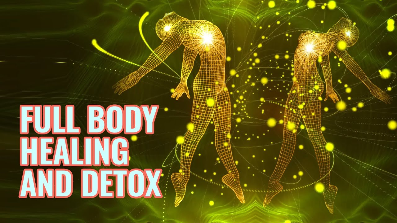 Full Body Healing and Detox | Tissue Regeneration, Binaural Beats | Boost Immunity